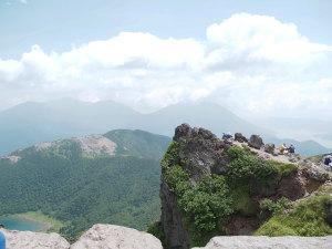 山頂からの眺め(五色沼)