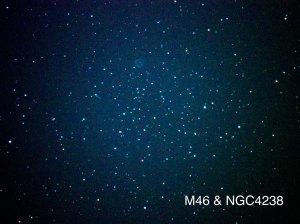 M46と惑星状星雲